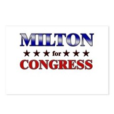 MILTON for congress Postcards (Package of 8)