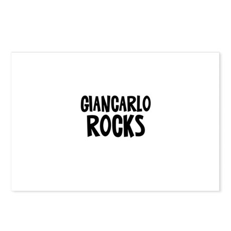 Giancarlo Rocks Postcards (Package of 8)