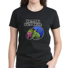 Knitters Have Balls! Tee