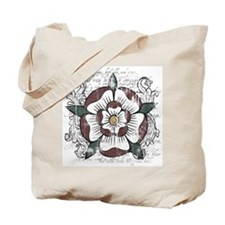 Tudor Rose Tote Bag