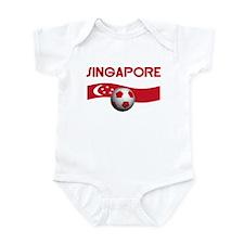 SINGAPORE WORLD CUP Infant Bodysuit
