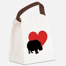 Funny Lover valentines Canvas Lunch Bag