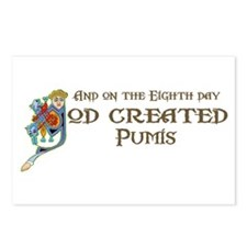 God Created Pumis Postcards (Package of 8)