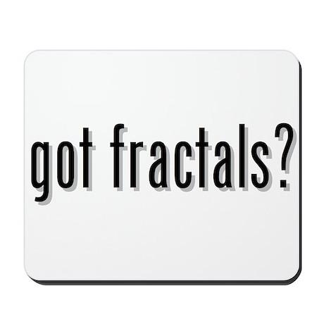 got fractals? Mousepad