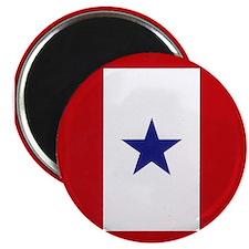 Blue Star Flag Magnet