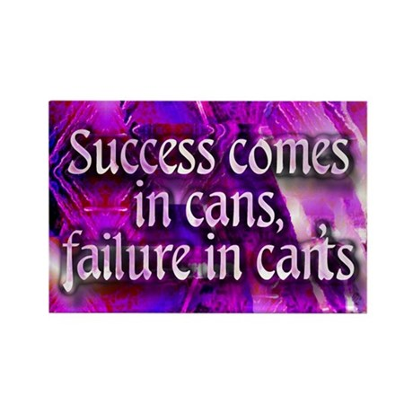Magnet - Success comes in cans