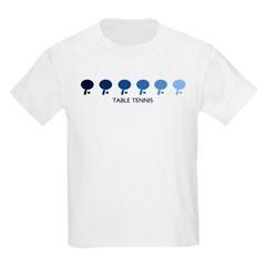 Table Tennis (blue variation) T-Shirt