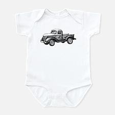 Old Truck Infant Bodysuit