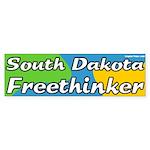 South Dakota Freethinker Bumper Sticker