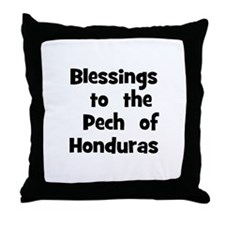 Blessings  to  the  Pech  of  Throw Pillow