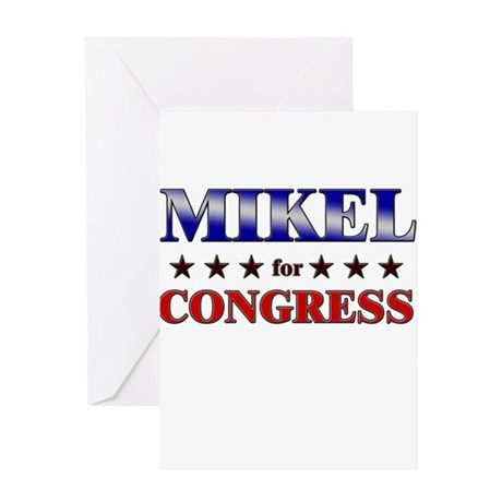 MIKEL for congress Greeting Card