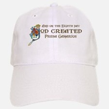 God Created Presas Baseball Baseball Cap