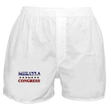 MIKAYLA for congress Boxer Shorts