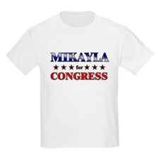 MIKAYLA for congress T-Shirt
