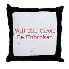 Circle Unbroken Throw Pillow