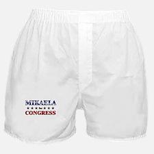 MIKAELA for congress Boxer Shorts