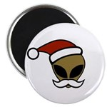 Alien Santa Magnet