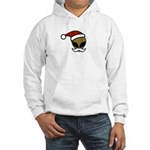 Alien Santa Hooded Sweatshirt