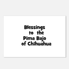 Blessings  to  the  Pima Bajo Postcards (Package o