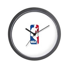 MBA Logo Wall Clock