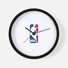 MBA Logo Wall Clock