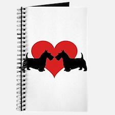 Scottish Terrier couple Journal