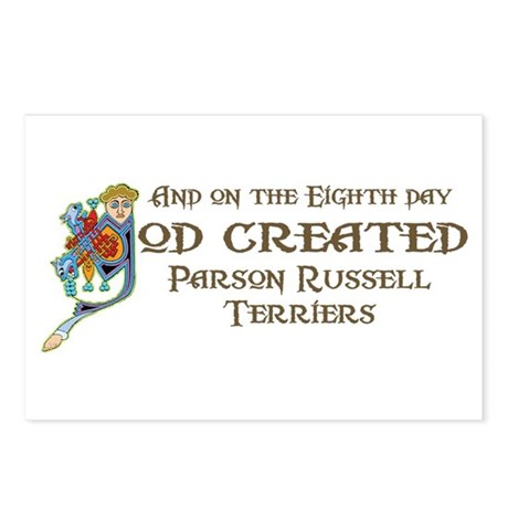 God Created Terriers Postcards (Package of 8)