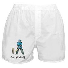Got Cricket? Boxer Shorts