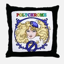 Polychrome Throw Pillow