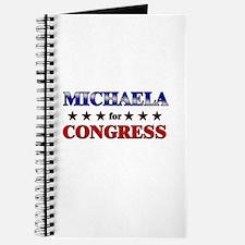 MICHAELA for congress Journal