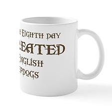 God Created Sheepdogs Mug