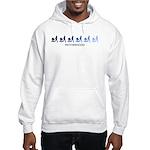 Motherhood (blue variation) Hooded Sweatshirt