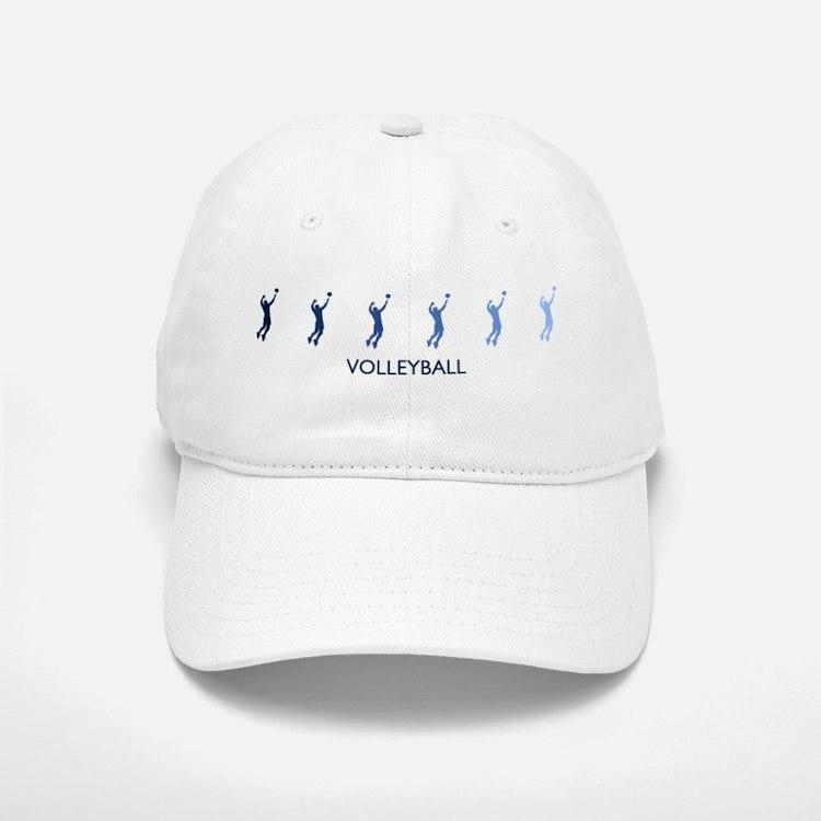 Mens Volleyball (blue variati Baseball Baseball Cap