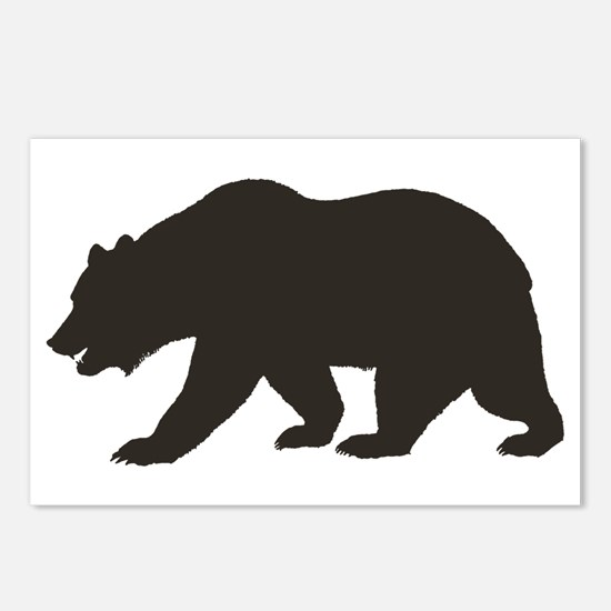 Cali Bear Postcards (Package of 8)