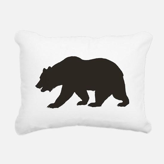 Cali Bear Rectangular Canvas Pillow