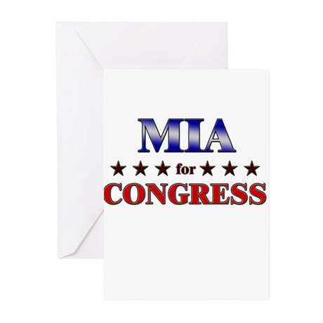 MIA for congress Greeting Cards (Pk of 20)