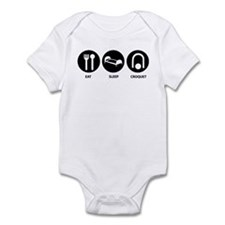 Eat Sleep Croquet Infant Bodysuit