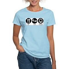 Eat Sleep Croquet T-Shirt