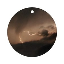 Lightning Ornament (Round)