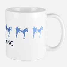 Kickboxing (blue variation) Mug