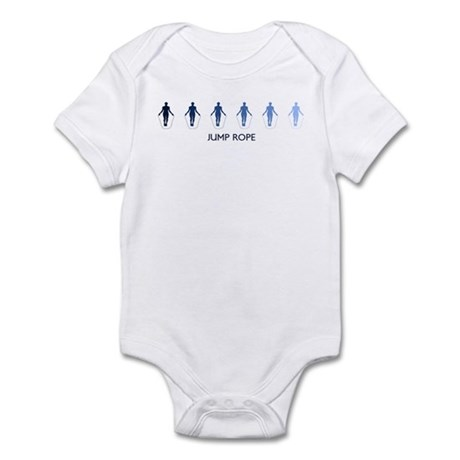 Jump Rope (blue variation) Infant Bodysuit