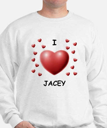 I Love Jacey - Sweater