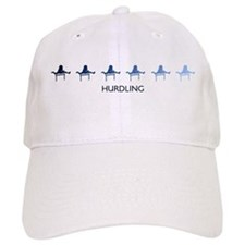 Hurdling (blue variation) Baseball Cap