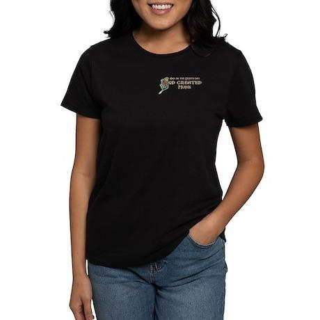 God Created Mudis Women's Dark T-Shirt