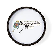 God Created Mudis Wall Clock