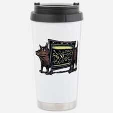 Dog in X-Rax Shows Thin Stainless Steel Travel Mug