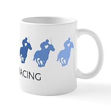 Horse Racing (blue variation) Mug