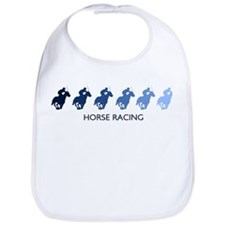 Horse Racing (blue variation) Bib