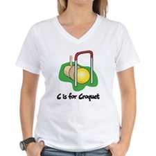 C is for Croquet Shirt