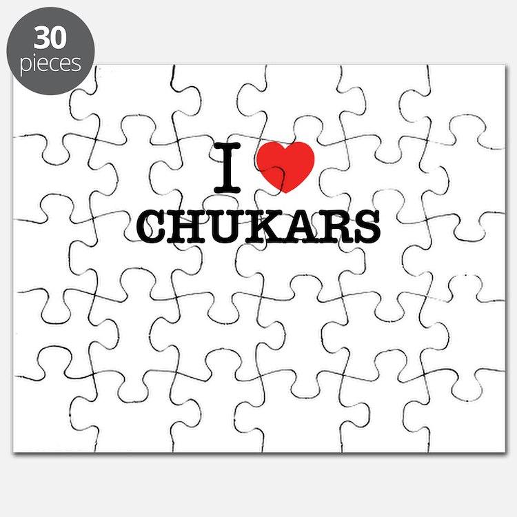 I Love CHUKARS Puzzle